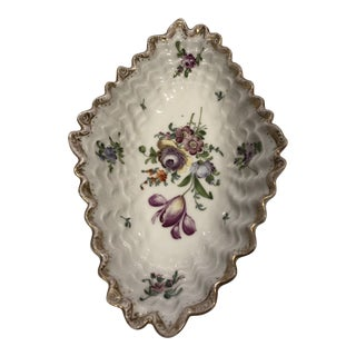 Royal Doulton Floral Motif Candy Dish For Sale