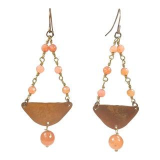 Handmade Drop Earrings For Sale