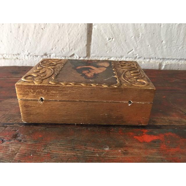 Florentine Wooden Box - Image 6 of 8