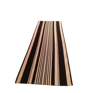Cotton Striped Runner Rug - 2′2″ × 6′7″ For Sale