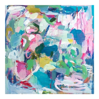 Lesley Grainger 'Rising' Original Abstract Painting For Sale