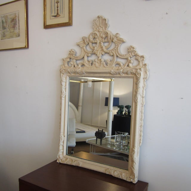 Rococo Heavily Patinated Mirror - Image 2 of 8