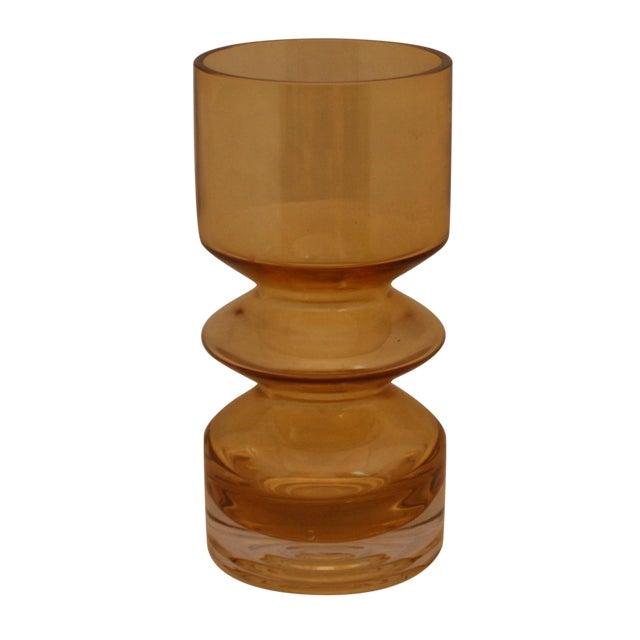 MCM Riihimaen Lasi Finland Art Glass Vase For Sale