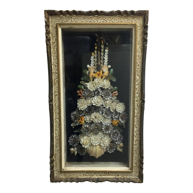 Shell Floral Wall Art - Image 1 of 6