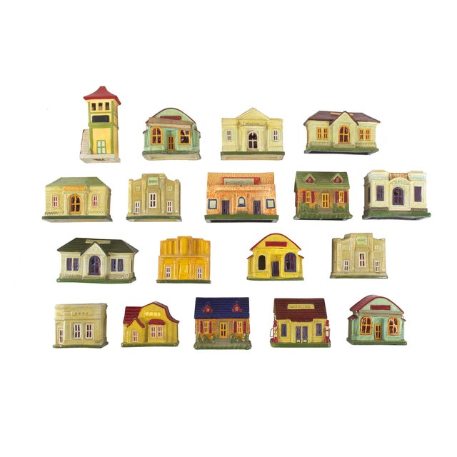 Vintage Houses, Made in Japan - Set of 18 - Image 1 of 5
