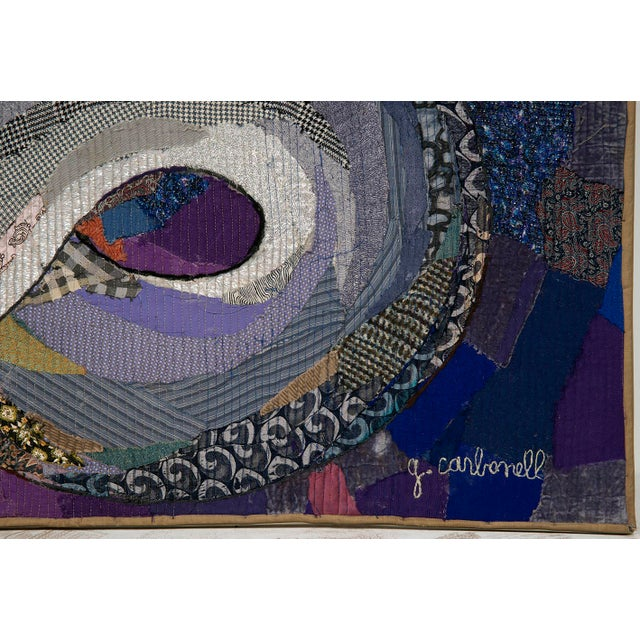 1980s Large and Unique Guidette Carbonell Tapestry For Sale - Image 5 of 12