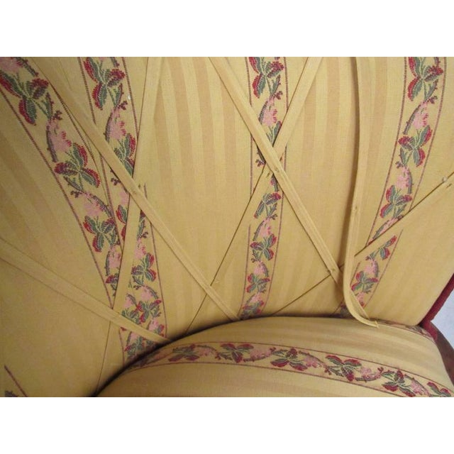 Vintage Barrel Back Italian Side Chairs - A Pair For Sale In New York - Image 6 of 11