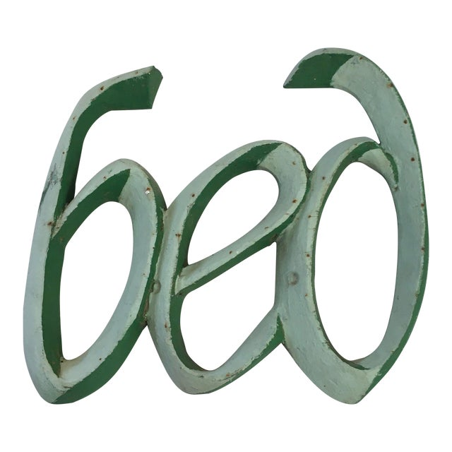 1950s Carved Wood Bed Sign For Sale