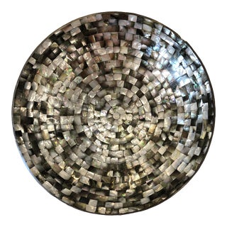 Mother of Pearl Mosaic Bowl For Sale