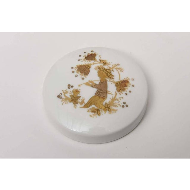 Mid-Century Modern Lidded Box and Canister by Bjorn Wiinblad for Rosenthal For Sale - Image 3 of 10