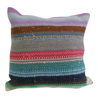 Handmade Decorative Kilim Pillow Cover For Sale