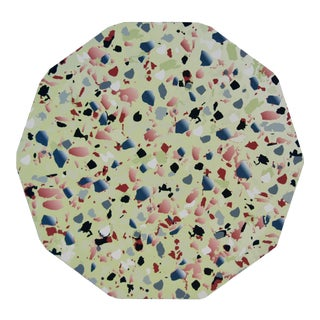Terrazzo Placemat in Green For Sale
