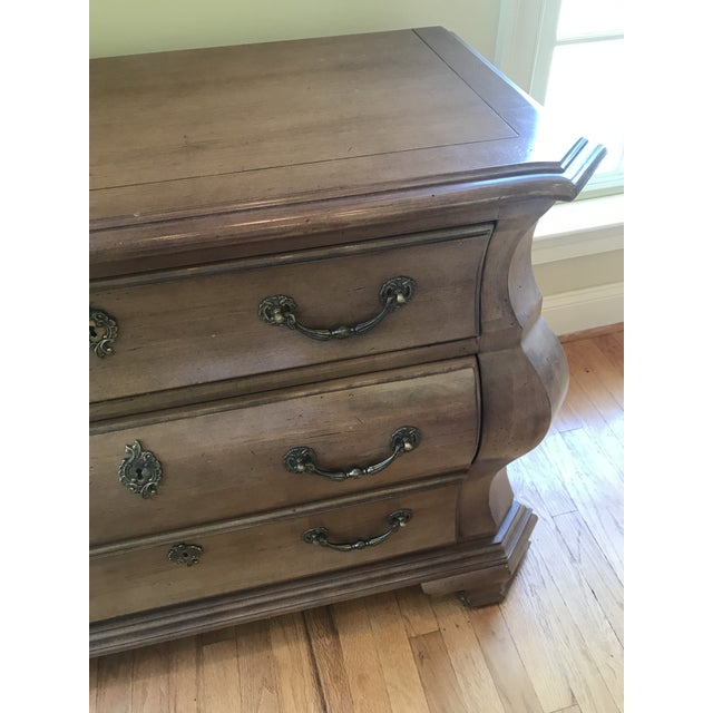 Century Furniture Century Furniture Fruitwood Bombe Chest For Sale - Image 4 of 10