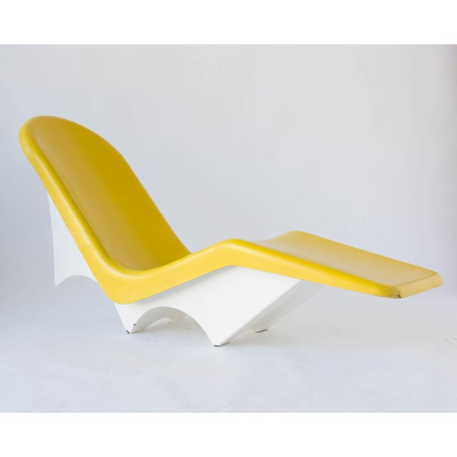 California-Made Fiberglass Patio Lounge Chairs - A Pair - Image 6 of 11