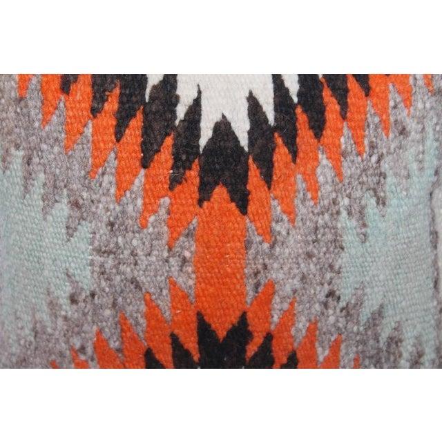 Small Navajo Weaving Eye Dazzler Pillow - Image 1 of 5