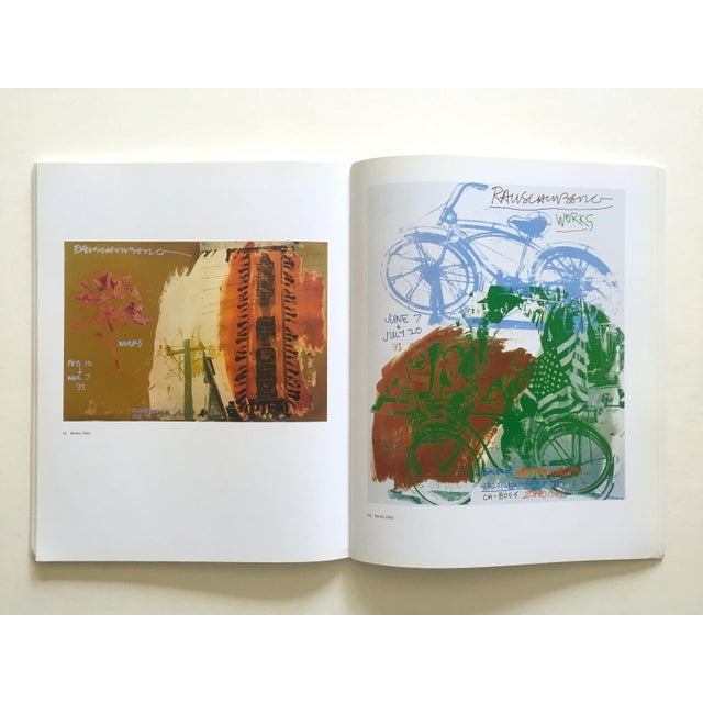 "2000 - 2009 "" Rauschenberg Posters "" Rare First Edition Collector's Lithograph Print Modern Art Book For Sale - Image 5 of 13"
