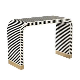 Interlude Home Beacon Console Table - Black