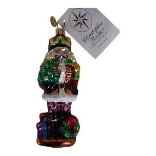 Christopher Radko Christmas Cracker Santa Ornament For Sale