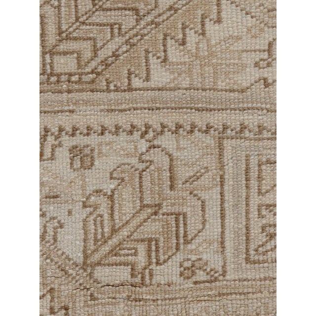 1940s Vintage Persian Heriz Rug Circa 1940 7' X 8'8 For Sale - Image 5 of 13