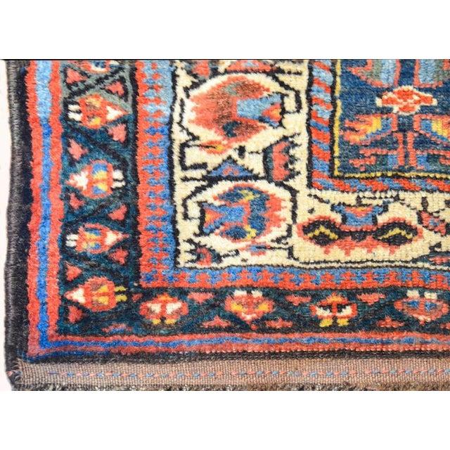 Islamic Early 20th Century Kurdish Runner Rug - 3′3″ × 9′6″ For Sale - Image 3 of 6