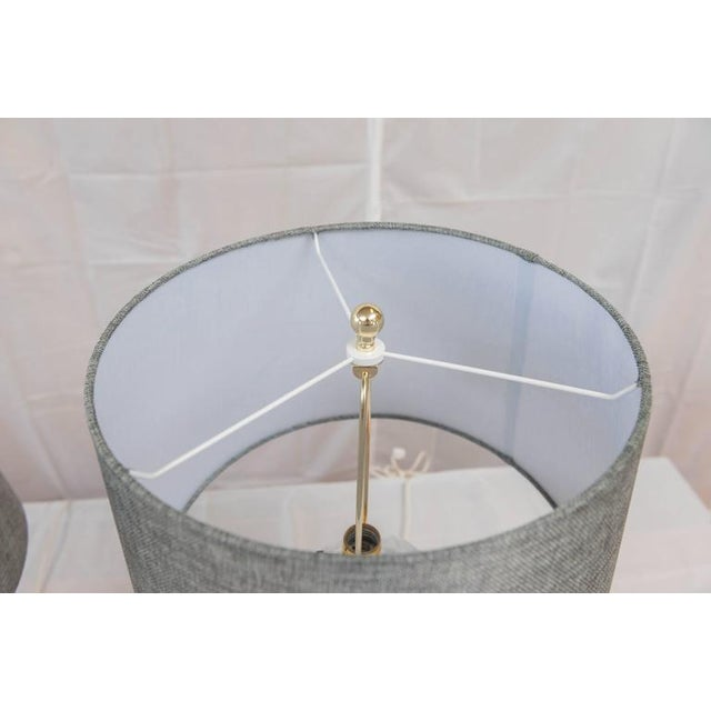 John Dickinson John Dickinson Plaster Lamps - A Pair For Sale - Image 4 of 7