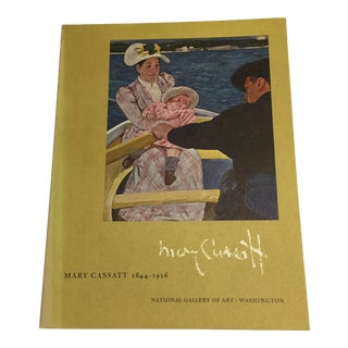 1970 Mary Cassatt 1844-1926 National Gallery Book For Sale