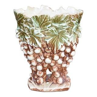 McCoy Grape Vase