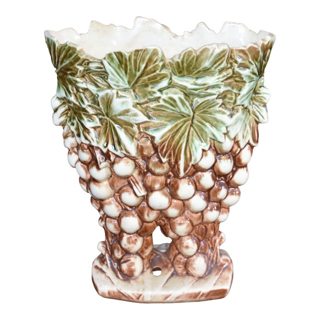 Mccoy Grape Vase Chairish