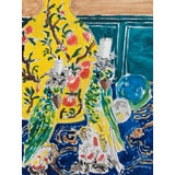 Image of Dries Van Noten Table, Ink Pen, Watercolor, and Gouache on Paper For Sale