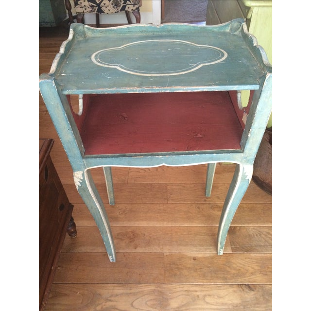 Antique French Country Side Table - Image 2 of 5