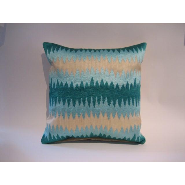 John Robshaw Poro Pillows - A Pair - Image 2 of 2