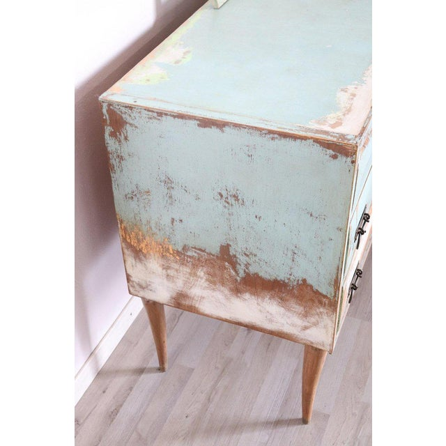 20th Century Italian Vintage Design Lacquered Commode or Chest With Frame For Sale - Image 11 of 13