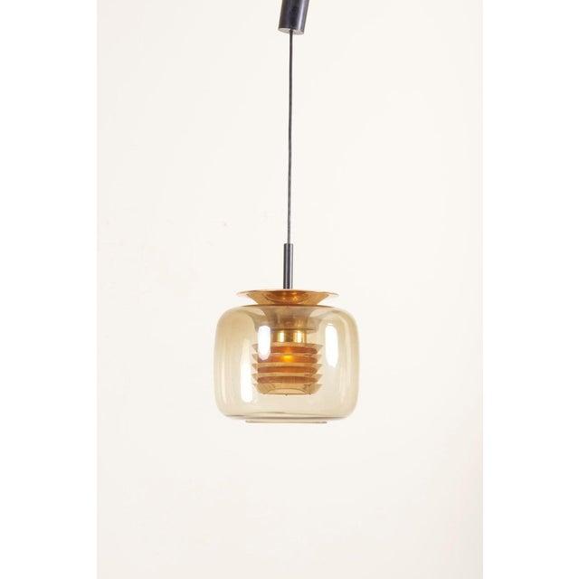 Hans-Agne Jakobsson 1960s Pendant Lamp in Manner of Hans-Agne-Jakobsson For Sale - Image 4 of 12