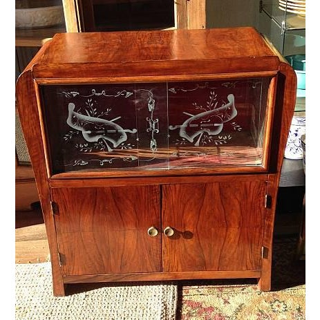 Antique Wood Music Case - Image 2 of 3