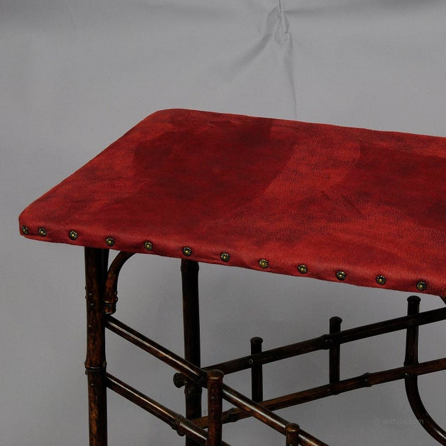 An Asian Inspired Set Of Bamboo Furniture Ca. 1930ties For Sale - Image 10 of 13