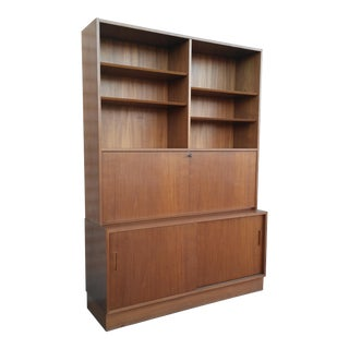 Hundevad Teak Dining Hutch / Wall Unit / Desk