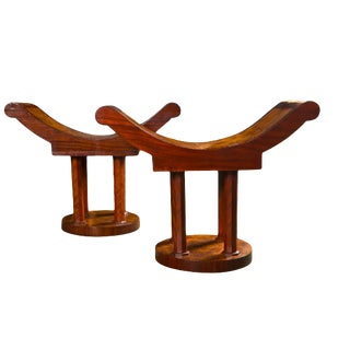 Pair of Art Deco Stools or Benches For Sale
