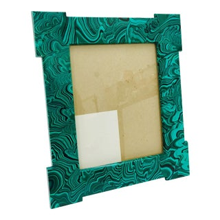 Vintage Malachite Frame For Sale