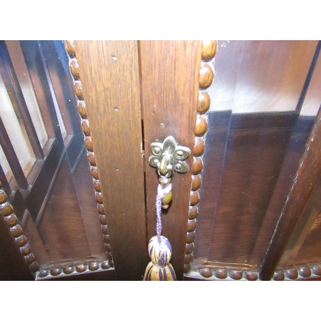 Early American Antique Mahogany Chocolate Display Table For Sale - Image 3 of 7