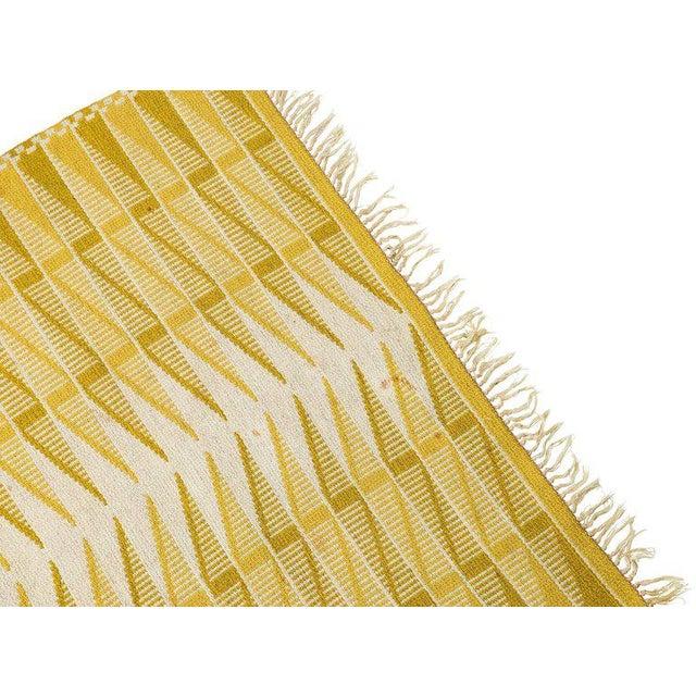 Vintage Swedish Flat-Weave Carpet - Image 4 of 9