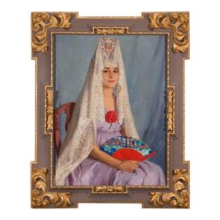 ANTONITA VA A LOS TOROS BY SIR GERALD FESTUS KELLY For Sale
