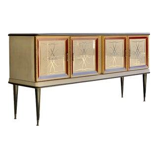 Midcentury Italian Sideboard Credenza 1950s Umberto Mascagni For Sale