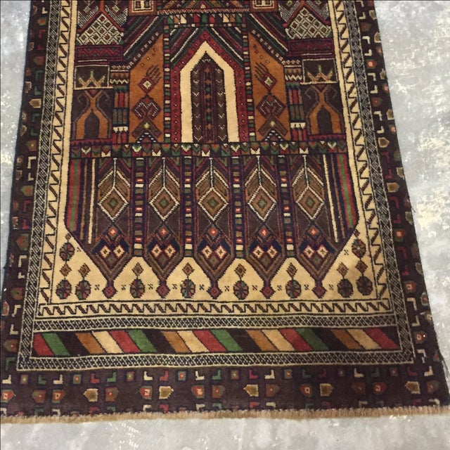 Baluchi Persian Rug - 2′3″ × 4′8″ - Image 3 of 8