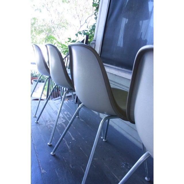 Eames La Fonda Lowback Chairs - Set of 4 - Image 9 of 11