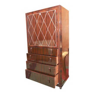 Art Deco Secretaire in the Manner of Ruhlmann For Sale