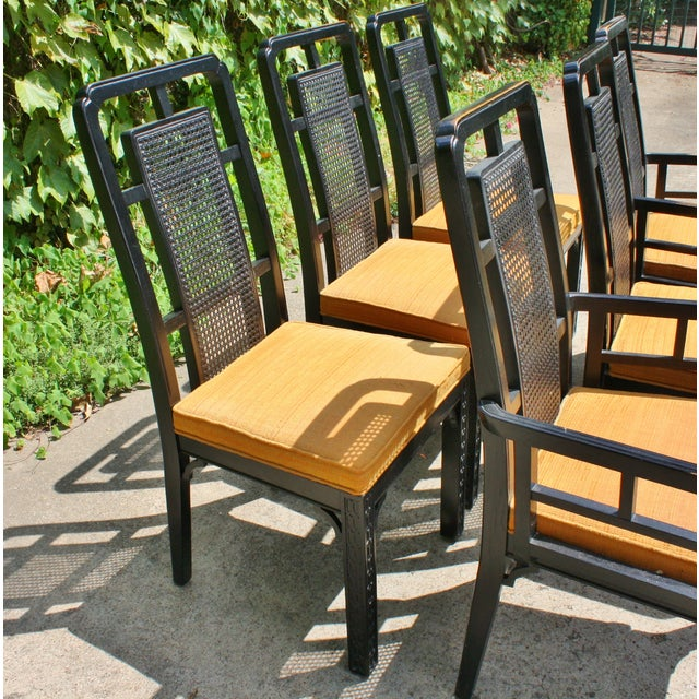 Vintage Chinese Chippendale Chairs - Set of 6 - Image 5 of 9