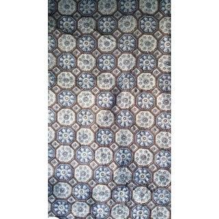 Indigo Cotton Velvet Fabric- 10 Yards For Sale