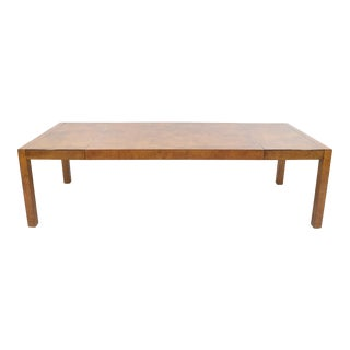Widdicomb Burl Wood Dining Table For Sale