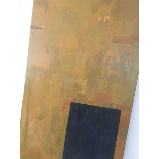 Vintage Oversized Original Abstract Painting - Image 5 of 7