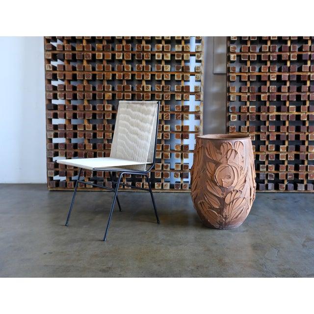 """David Cressey """"Expressive"""" Design Ceramic Planter for Architectural Pottery. Circa 1970."""